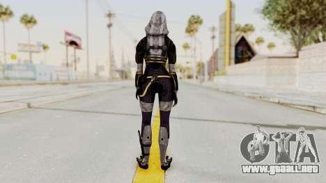 Mass Effect 3 Tali Zorah nar Rayya para GTA San Andreas tercera pantalla