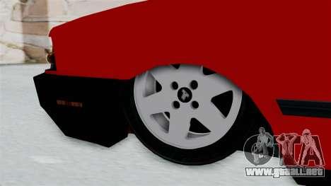 Tofas Dogan para GTA San Andreas vista posterior izquierda
