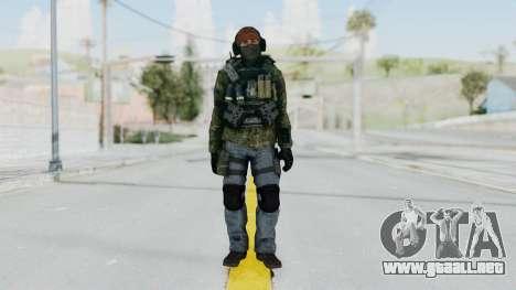 CoD AW KVA Assault para GTA San Andreas segunda pantalla