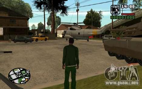 Eazy Vehicle Mod v1.0 para GTA San Andreas tercera pantalla