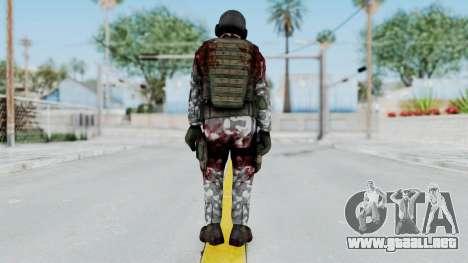 Black Mesa - Wounded HECU Marine v2 para GTA San Andreas tercera pantalla