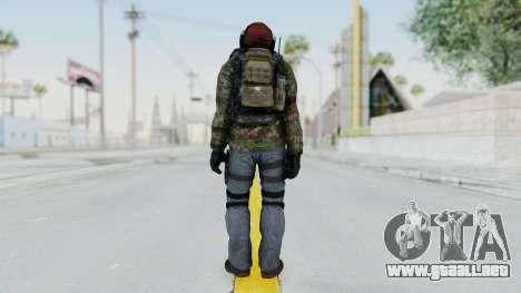 CoD AW KVA Assault para GTA San Andreas tercera pantalla