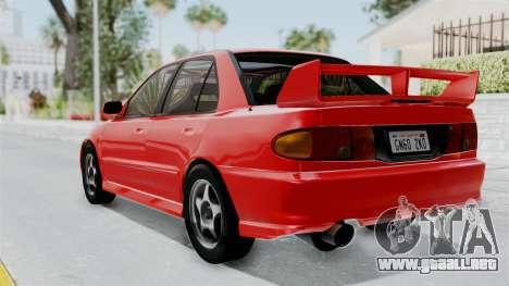 Mitsubishi Lancer Evolution III 1996 (CE9A) para GTA San Andreas left