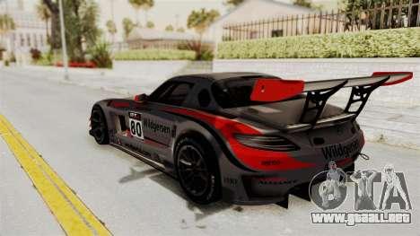 Mercedes-Benz SLS AMG GT3 PJ4 para las ruedas de GTA San Andreas