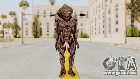 Mass Effect 3 Collector Awakened Adept MP para GTA San Andreas segunda pantalla