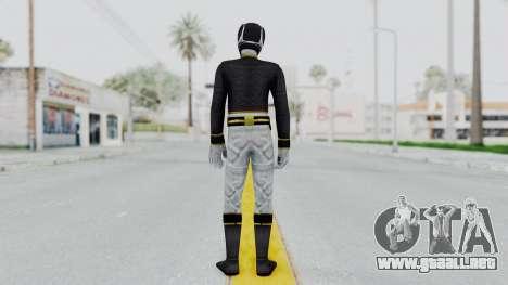 Power Rangers Megaforce - Black para GTA San Andreas tercera pantalla