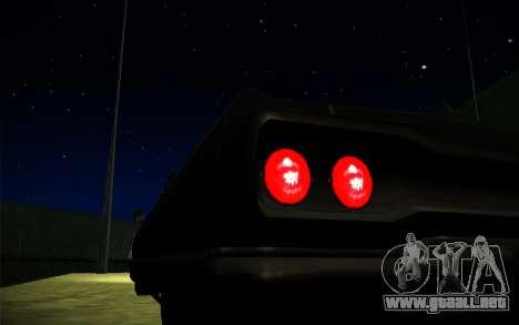 ENB Series by TURBO MIX para GTA San Andreas sucesivamente de pantalla