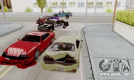 Llamar a la policía en caso de accidente para GTA San Andreas