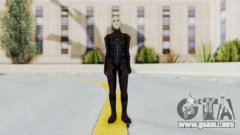 Mass Effect 1 Asari Clone Commando para GTA San Andreas segunda pantalla