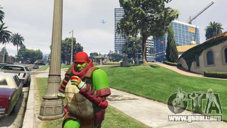GTA 5 Teenage mutant ninja turtles segunda captura de pantalla