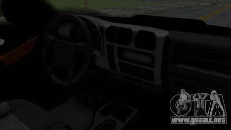 Chevrolet S10 Policia Caminera Paraguaya para la visión correcta GTA San Andreas