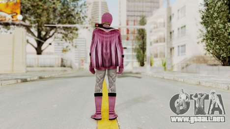 Power Rangers Mystic Force - Pink para GTA San Andreas tercera pantalla