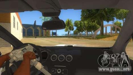 Peugeot 308 Full Sport para visión interna GTA San Andreas