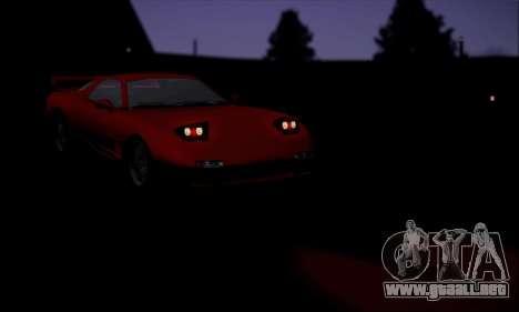 ZR - 350 para vista lateral GTA San Andreas