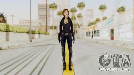 Ana from Metro Conflict para GTA San Andreas segunda pantalla