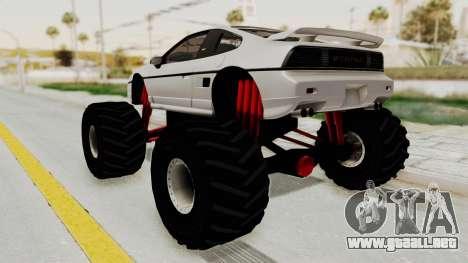 Pontiac Fiero GT G97 1985 Monster Truck para GTA San Andreas left