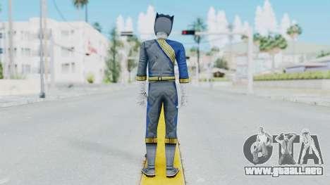 Power Rangers Wild Force - Wolf para GTA San Andreas tercera pantalla
