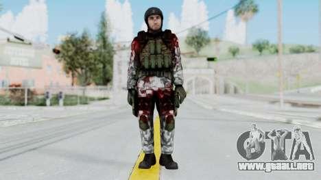 Black Mesa - Wounded HECU Marine v3 para GTA San Andreas segunda pantalla