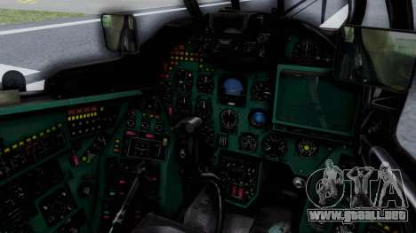 Mi-24V GDR Air Force 45 para visión interna GTA San Andreas