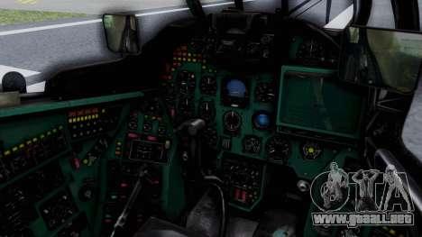 Mi-24V GDR Air Force 45 para visión interna GTA San Andreas