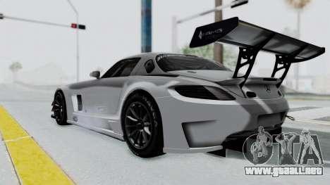 Mercedes-Benz SLS AMG GT3 PJ7 para GTA San Andreas left