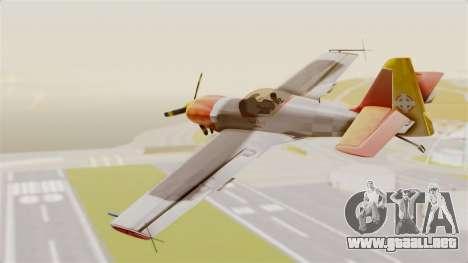 Zlin Z-50 LS v5 para GTA San Andreas left