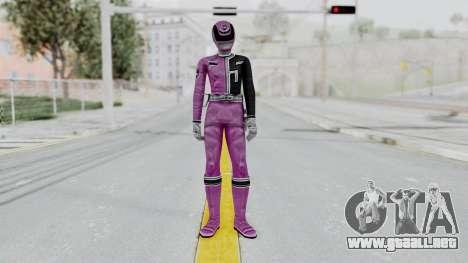 Power Rangers S.P.D - Pink para GTA San Andreas segunda pantalla