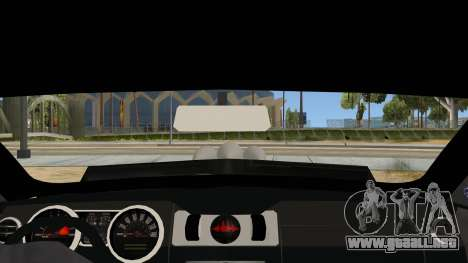 Ford Mustang para visión interna GTA San Andreas