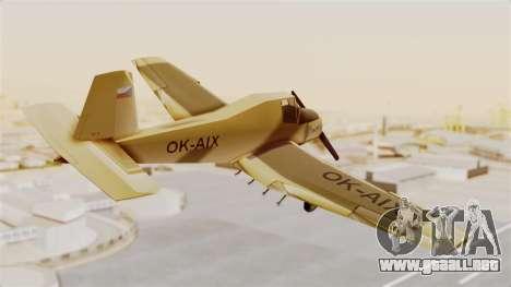 Z-37 Cmelak para la visión correcta GTA San Andreas