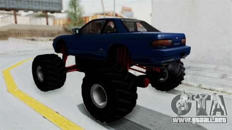 Nissan Silvia S13 Monster Truck para GTA San Andreas left