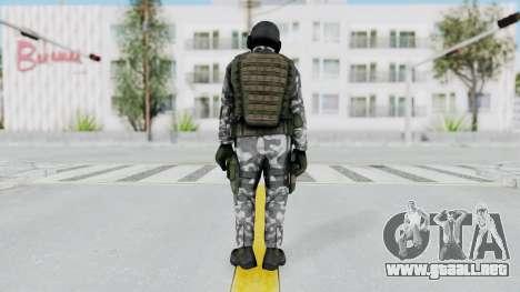 Black Mesa - HECU Marine v2 para GTA San Andreas tercera pantalla