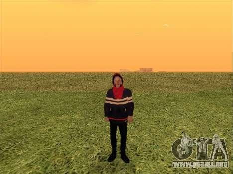 PHARAON para GTA San Andreas segunda pantalla