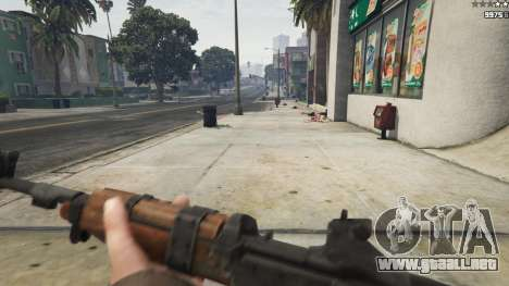 GTA 5 Bioshock Infinite - Carbine Rifle sexta captura de pantalla