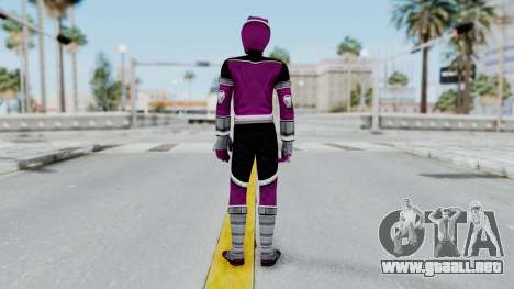 Power Rangers Jungle Fury - Wolf para GTA San Andreas tercera pantalla
