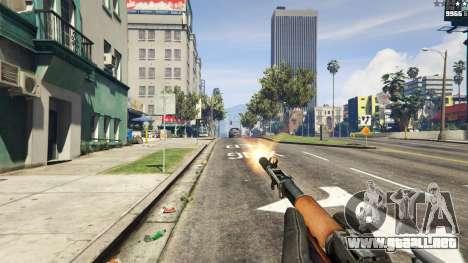 GTA 5 Auto-carga de carabina Simonov cuarto captura de pantalla