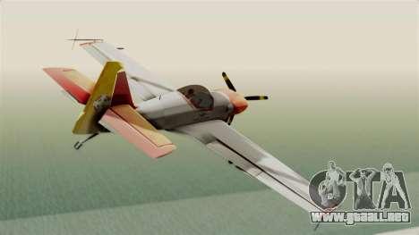 Zlin Z-50 LS v5 para la visión correcta GTA San Andreas