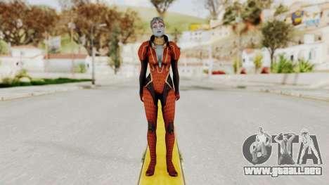 Mass Effect 2 Samara Red para GTA San Andreas segunda pantalla