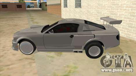 Ford Mustang para GTA San Andreas left