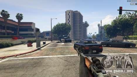 GTA 5 Auto-carga de carabina Simonov quinta captura de pantalla