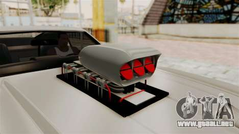 Ford Mustang 1971 Monster Truck para GTA San Andreas vista hacia atrás