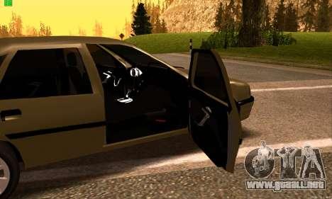 Opel Vectra A para la visión correcta GTA San Andreas