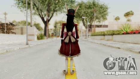 Alice LBL Madness Returns para GTA San Andreas tercera pantalla