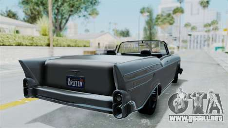 GTA 5 Declasse Tornado No Bobbles and Plaque IVF para GTA San Andreas left