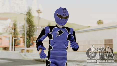 Power Rangers Jungle Fury - Blue para GTA San Andreas