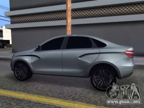 Lada Vesta HD (beta) para GTA San Andreas left
