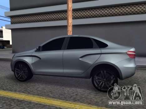 Lada Vesta HD (beta) para GTA San Andreas left
