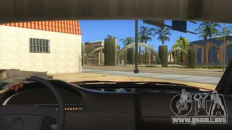 BMW E32 para visión interna GTA San Andreas