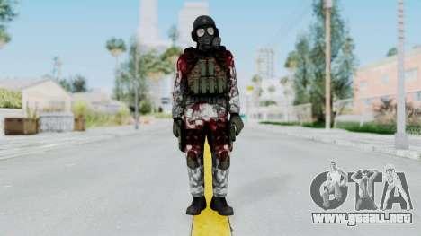 Black Mesa - Wounded HECU Marine v2 para GTA San Andreas segunda pantalla