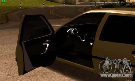 Opel Vectra A para GTA San Andreas vista posterior izquierda