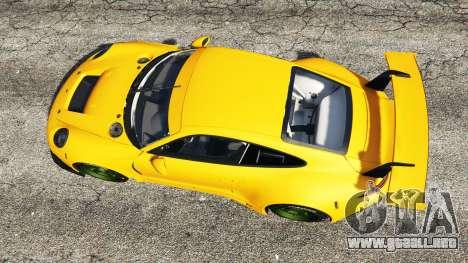 GTA 5 Ruf RGT-8 vista trasera
